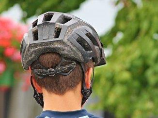 Photo d'un casque de vélo