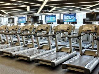Photo de tapis de course fitness